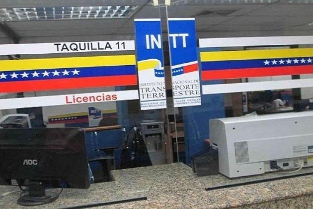 INTT automatiza emisión del duplicado del Certificado de Registro de Vehículo