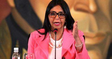 Solicitan a la UE tomar medidas para que no se repita la violación cometida por Delcy Rodríguez