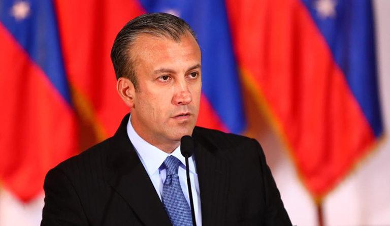 El Aissami afirma que la producción petrolera en el país se cuadruplicará para finales de 2021