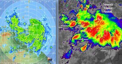 ¡Alerta! Onda tropical se transformó en Tormenta Karen