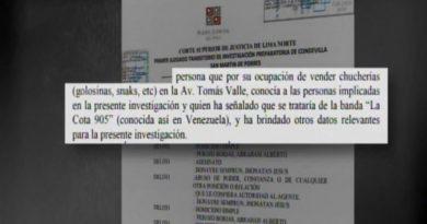 Descuartizadores del venezolano en Perú pertenecen a la banda La Cota 905