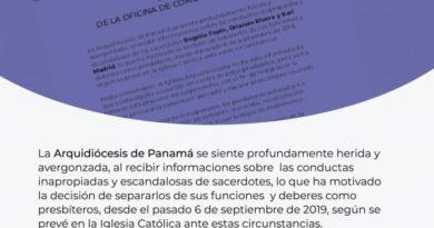 Panamá: Polémica por video sexual de sacerdotes con venezolano