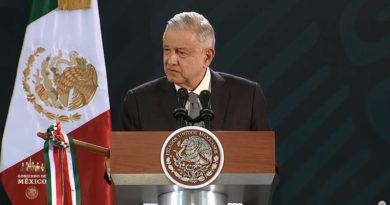 El presidente mexicano López Obrador da positivo por covid-19