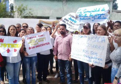 Vecinos de Píritu defienden a los imputados por caso de abigeato