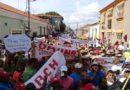 Revolucionarios de Coro marcharon en apoyo a Maduro
