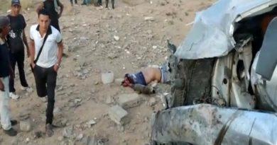 Un muerto y un herido en choque en Zona Franca de Paraguaná
