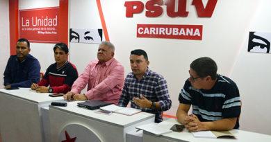 Equipo político revisa las estructuras del Psuv