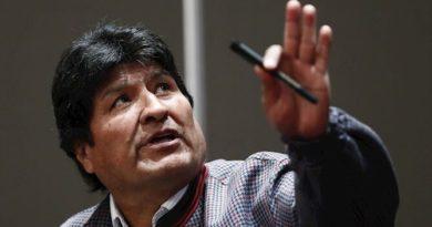 Bolivia: Nombran a Evo Morales como jefe de campaña del Congreso del MAS