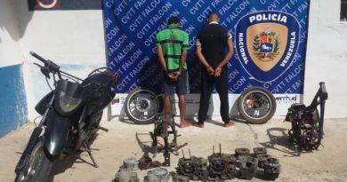 Aprehendidos dos de «Los Rompe Olas» en Tacuato, dedicados a desvalijar vehículos