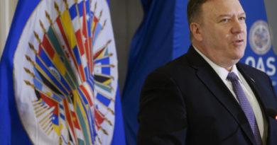 """Pompeo ante la OEA: """"Hay más acciones en camino contra el régimen de Maduro"""""""