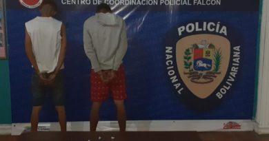 Dos microtraficantes cayeron en manos de la justicia