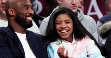 Confirman la muerte de una hija de Kobe Bryant en el accidente de helicóptero