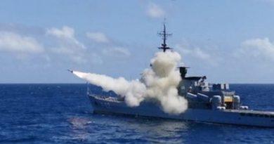 FANB probó poderoso y costoso misil antibuque durante ejercicios militares
