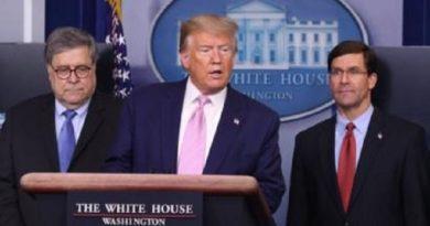 Trump anuncia nuevas operaciones antidroga en el hemisferio occidental