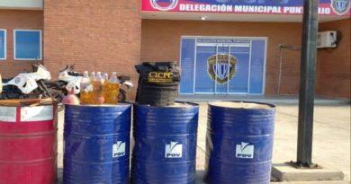 CICPC detiene a mujer por vender gasolina en Punto Fijo