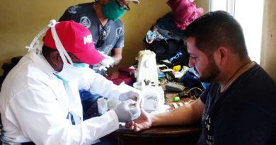 Continúan visitas casa por casa para despistaje del Covid-19 en Carirubana