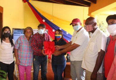 Alcaldesa del municipio Falcón rinde cuentas
