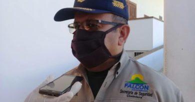 Falcón regresa a la semana radical por la Covid-19
