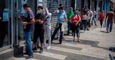 Venezuela reporta 867 nuevos casos por covid-19