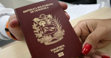 Venezolanos en 7 países podrán pedir prórroga de pasaporte a domicilio