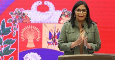 Delcy Rodríguez informó que Venezuela superó los 91 mil contagios por COVID-19