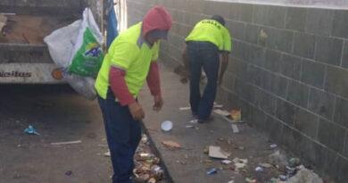 Con más de 100 trabajadores desplegado plan de recolección de basura en Miranda