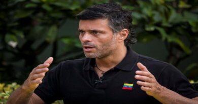 Leopoldo López salió de Venezuela