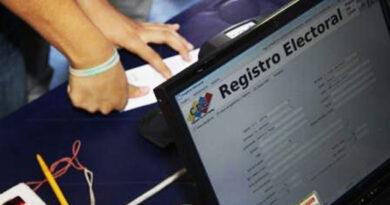 CNE: 76 % de los puntos de Registro Electoral están activos