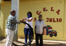 Hidrofalcón realizó donativo de manguera y conexiones al CEIS 5 de Julio