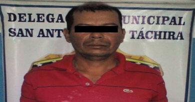 Detenido sujeto en Tachira por abusar sexualmente de su hija y su hijastra