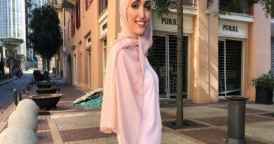 Habló la novia que estaba siendo fotografiada en el momento de la explosión en Beirut