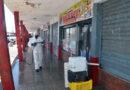 Alcaldía ejecuta jornada de desinfección en el mercado municipal de Punto Fijo