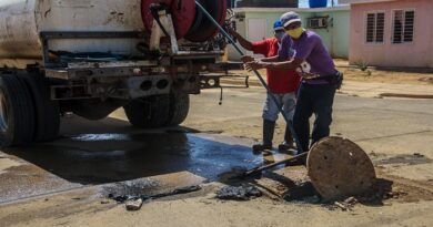 Hidrofalcón realizó mantenimiento de colector en Los Libertadores