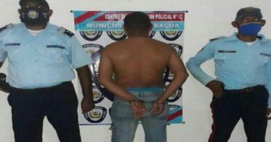 PoliFalcón detuvo a hombre que causó graves lesiones a tres personas