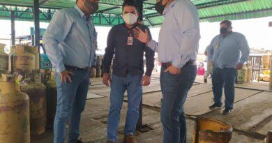 Gobierno revolucionario trabaja en reactivar la fuente de suministro de GLP en Falcón