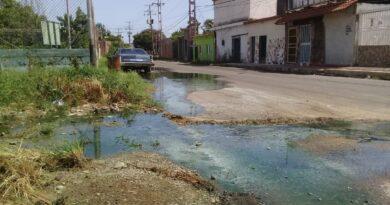 Presidente del colegio de Ingenieros denunció desbordamiento de aguas servidas en Coro