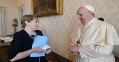 El Papa se reunió con Bachelet para hablar de América Latina, coronavirus y Venezuela