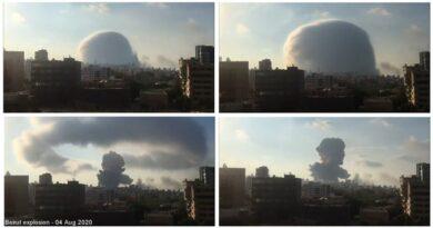 Expertos explican por qué explosiones de Beirut causaron un hongo similar a una bomba nuclear