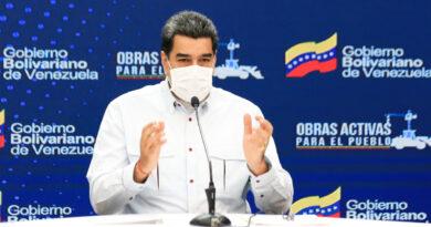 Maduro: «Mike Pompeo se fue con las tablas en la cabeza»