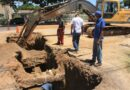 Cuadrilla de Aguas Servidas de Hidrofalcón corrige colapso en avenida Independencia de Coro