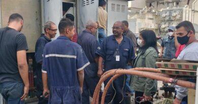 Vicepresidenta agradeció a Corpoelec por rescatar el servicio eléctrico