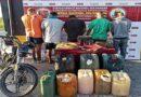 Apresan a dos sargentos y tres hombres hurtando gasolina de una estación de servicios en Barinas