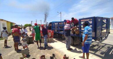 Gas Falcón atendió a más 400 Familias del complejo habitacional Bicentenario en Punto Fijo