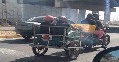 Crisis de combustible genera nuevas modalidades de transporte en Paraguaná (FOTO)