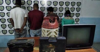 Policarirubana desmanteló peligrosa banda en Bicentenario