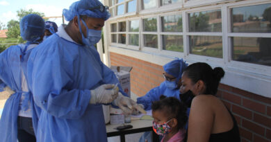 Instalados  200 puntos de vacunación en Falcón