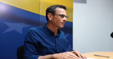 Capriles aboga por una «solución política negociada» en Venezuela