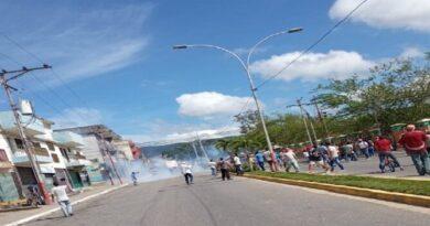Yaracuy: Continúa fuerte represión en Nirgua