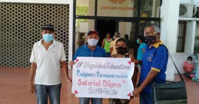 SUMA Falcón denunció coacción de la Zona Educativa a docentes para que cumplan su labor