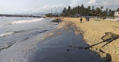 Diputado Eliezer Sirit denunció el nuevo derrame de petróleo en las costas de Paraguaná